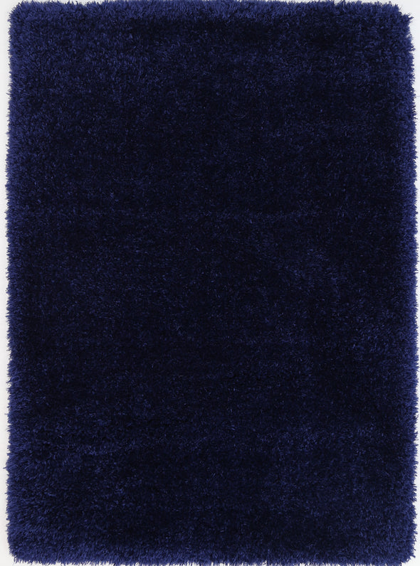 Cushy Super Soft Ultra Thick Shag Rug Navy