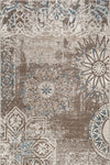 Felicity Beige Distressed Contemporary Rug
