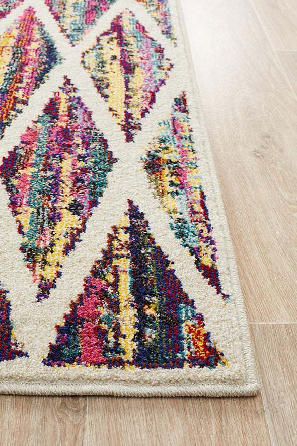 Gemini Modern 502 Multi Coloured Rug