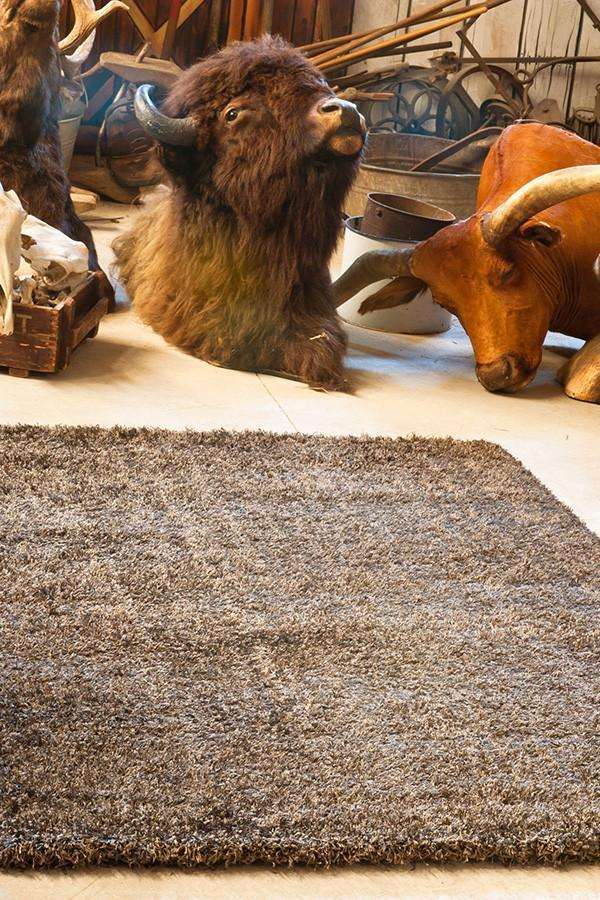 Gravity collection Dark Taupe Rug - Cheapest Rugs Online - 1