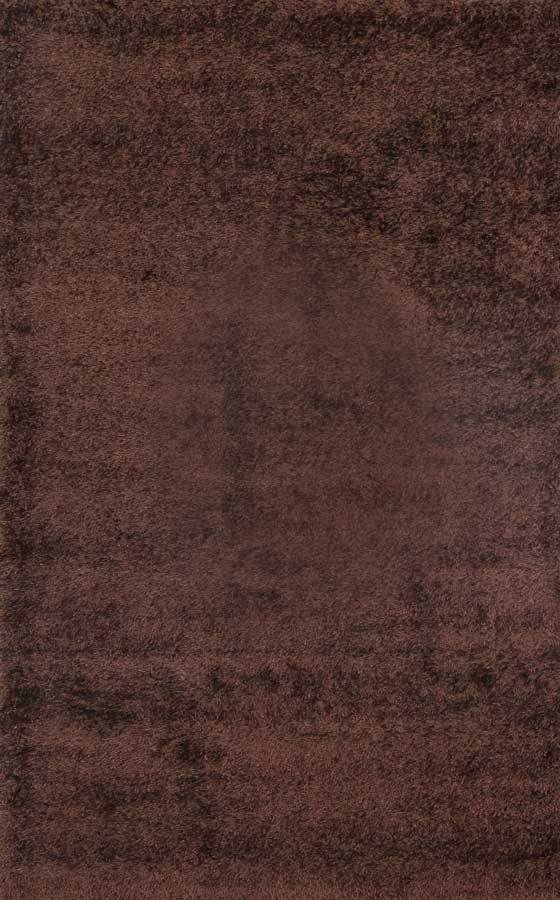 GRAND SHAGGY BROWN RUG