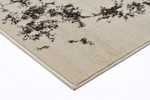Heirloom Rembrandt Designer Ivory Brown Runner Rug