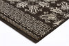 Heirloom Urban Tribe Designer Brown Runner Rug