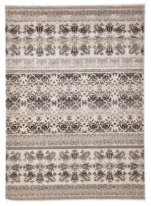 Heirloom Urban Tribe Designer Ivory Rug