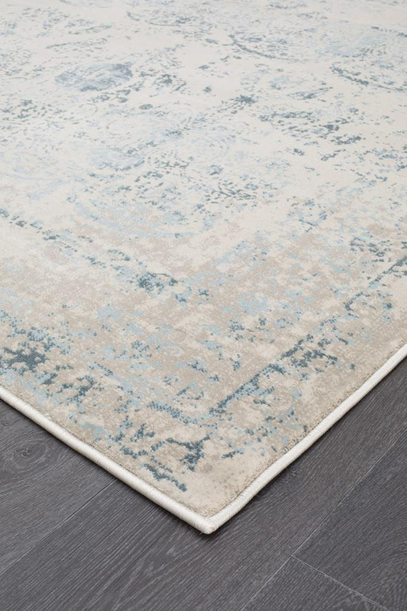Heirloom Antique Traditional Blue Runner