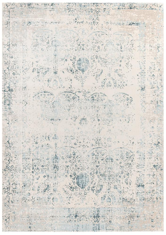 Heirloom Antique Traditional Blue Rug