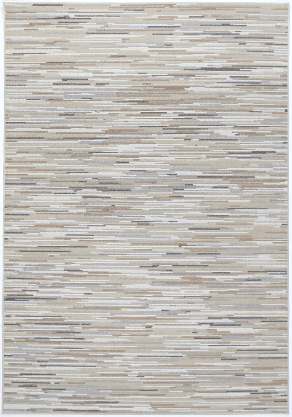 Garden Hue Indoor/Outdoor Beige Rug