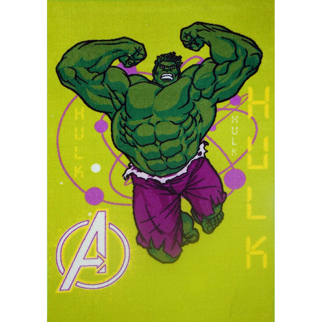 Kids Rugs Hulk Smash