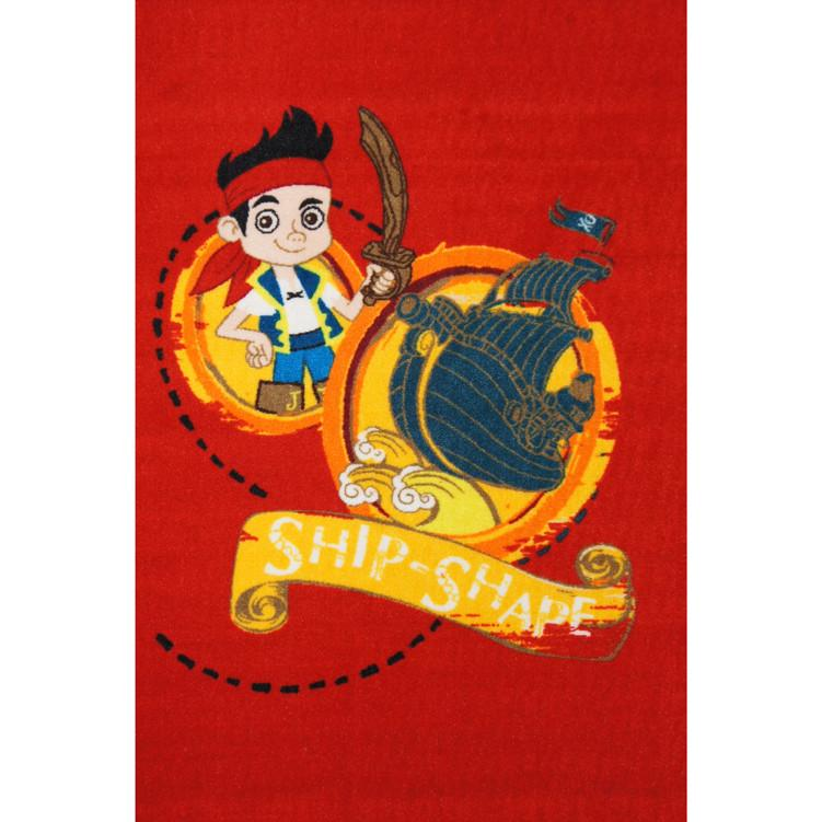 KIDS RUG Jake Ship Shape (41219-59469)