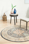 Legacy 858 Midnight Round Rug