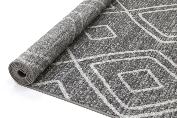 Garden Marrakesh Indoor/Outdoor Charcoal Rug