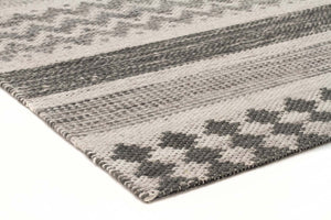 Miller Rhythm Pulse Smoke Rug