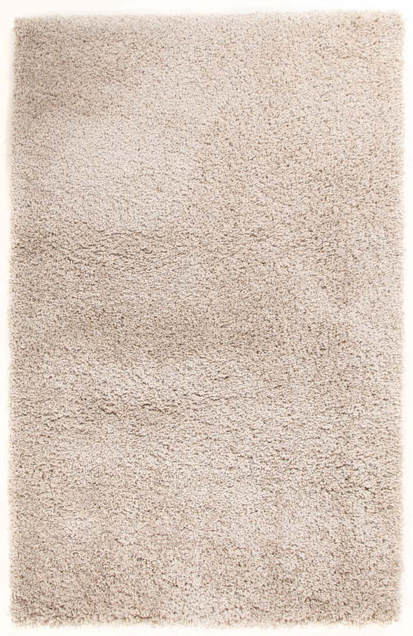 Pandora Collection Thick Soft Polar Linen Shag Rug