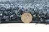 Pandora Collection Thick Soft Polar Teal Shag Rug