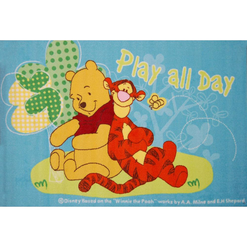 KIDS RUG Play all day Pooh (87615 - 84158)