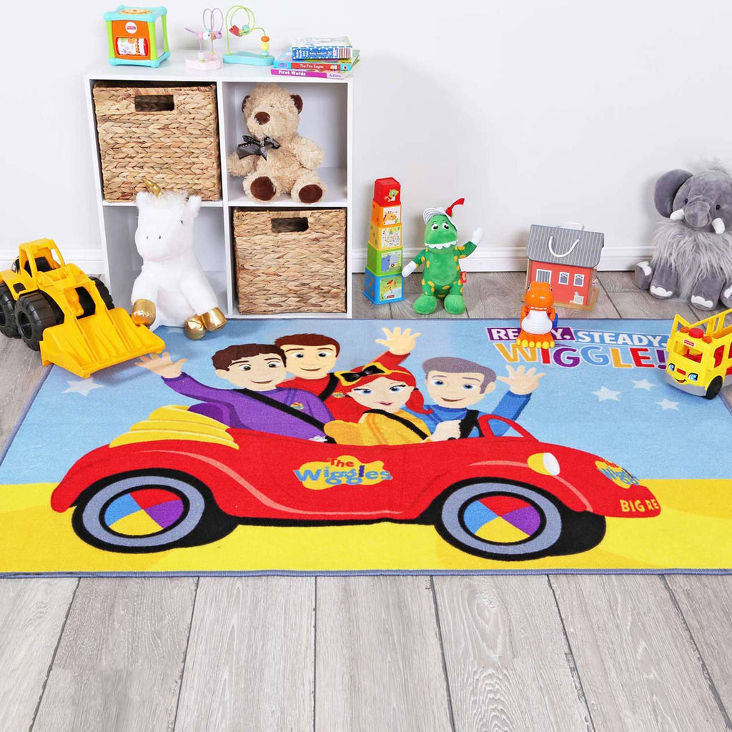 Ready Steady Wiggle, ABC Wiggles 100x150 cm Kids Rug