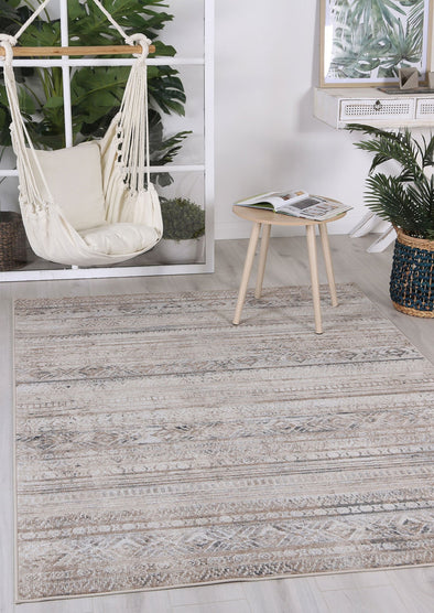 Courtyard Rome Indoor/Outdoor Beige Rug
