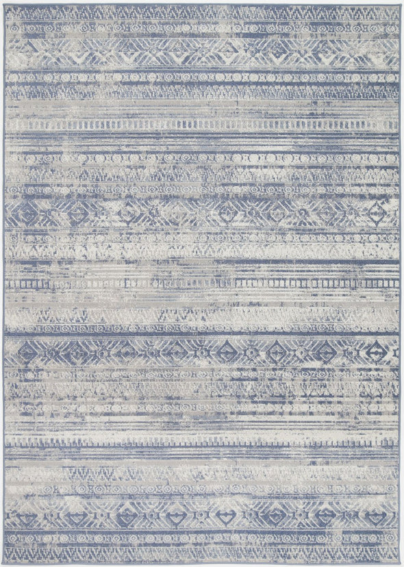 Garden Rome Indoor/Outdoor Blue Rug