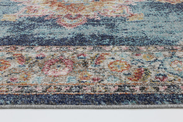 Neptune Transitional Navy Rug