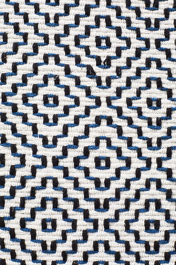Spirit Carter Textured Modern Rug Navy