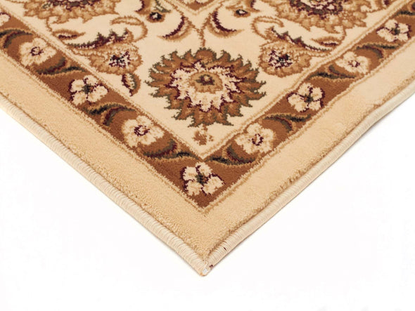 Sydney Classic Runner Ivory With Ivory Border Runner Rug
