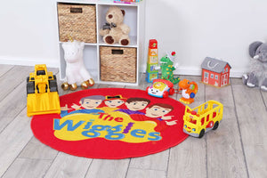 The Wiggle, ABC Wiggles 100cm Round Kids Rug