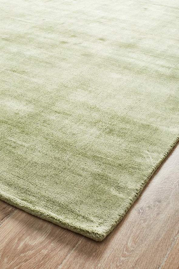 Twilight Collection Green Rug