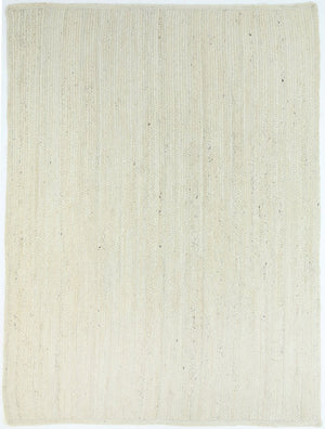 Organica Light Beige Jute Rug