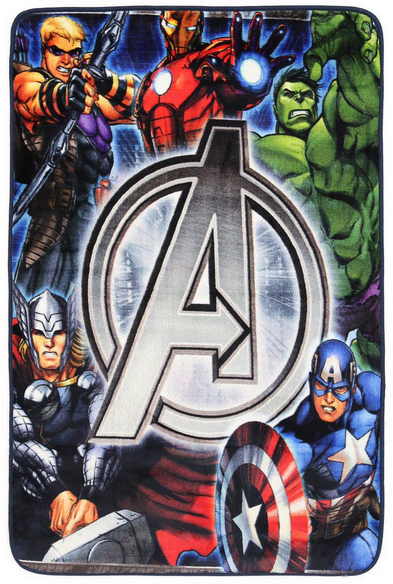 Non Slip Multicolour Kids Marvel Avengers Super Hero Group Area Rug Baby Play Mat