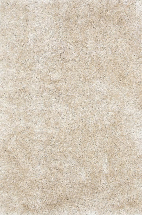 Naya Light Beige Shag Rug
