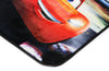 Non Slip Black Kids Disney Pixar Cars Lighting McQueen Area Rug Baby Play Mat