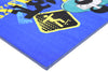 Non Slip Blue Kids Disney Mickey Mouse Skating Area Rug Baby Play Mat