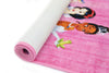 Non Slip Pink Multicolour Disney Princess Never Stop Dreaming Princesses Kids Area Rug Baby Play Mat