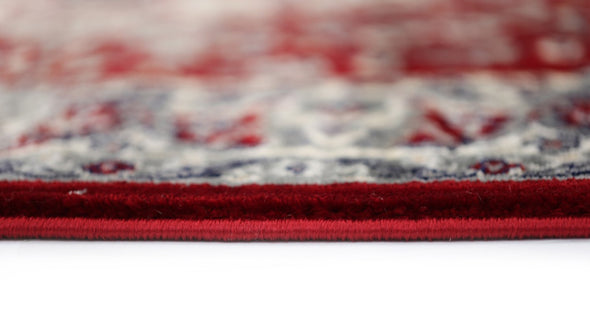 YAZMIN 16 RED / DARK GREY RUG