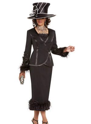 DONNA VINCI 11681 WOMEN 2PC SKIRT SUIT