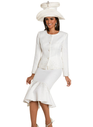 DONNA VINCI 11700 WOMEN 2PC SKIRT SUIT