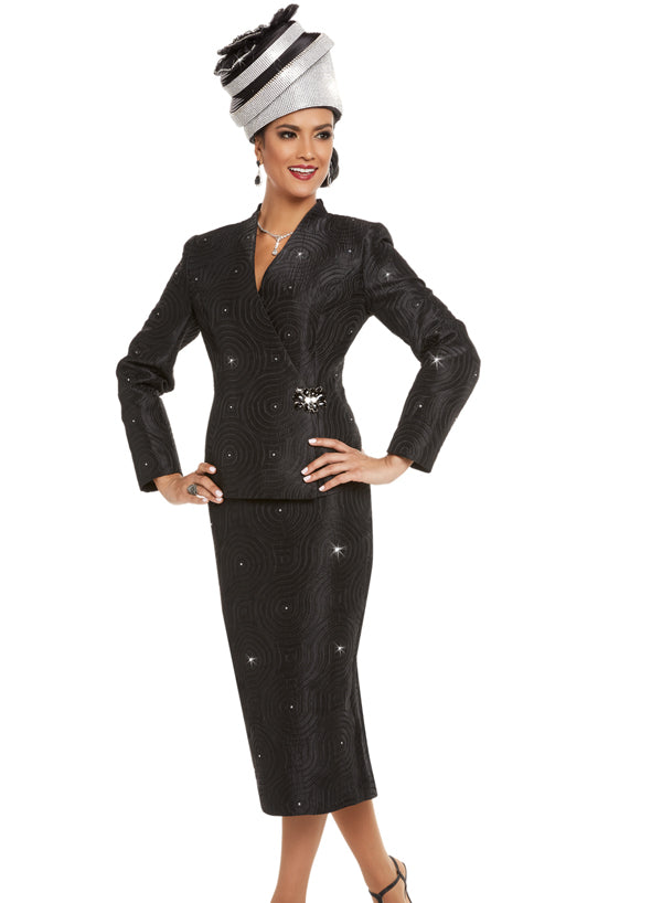 DONNA VINCI 11706 WOMEN 2PC SKIRT SUIT