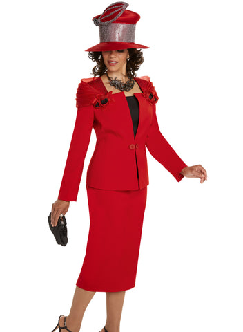 DONNA VINCI 11712 WOMEN 3PC CHURCH SUIT