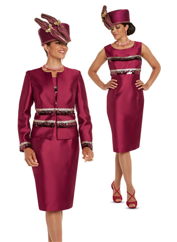 DONNA VINCI 11722 DRESS SUIT