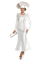 DONNA VINCI 11736-2PC SKIRT SUIT