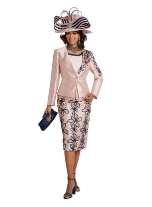 DONNA VINCI 11743 EMBELLISHED 3PC SUIT