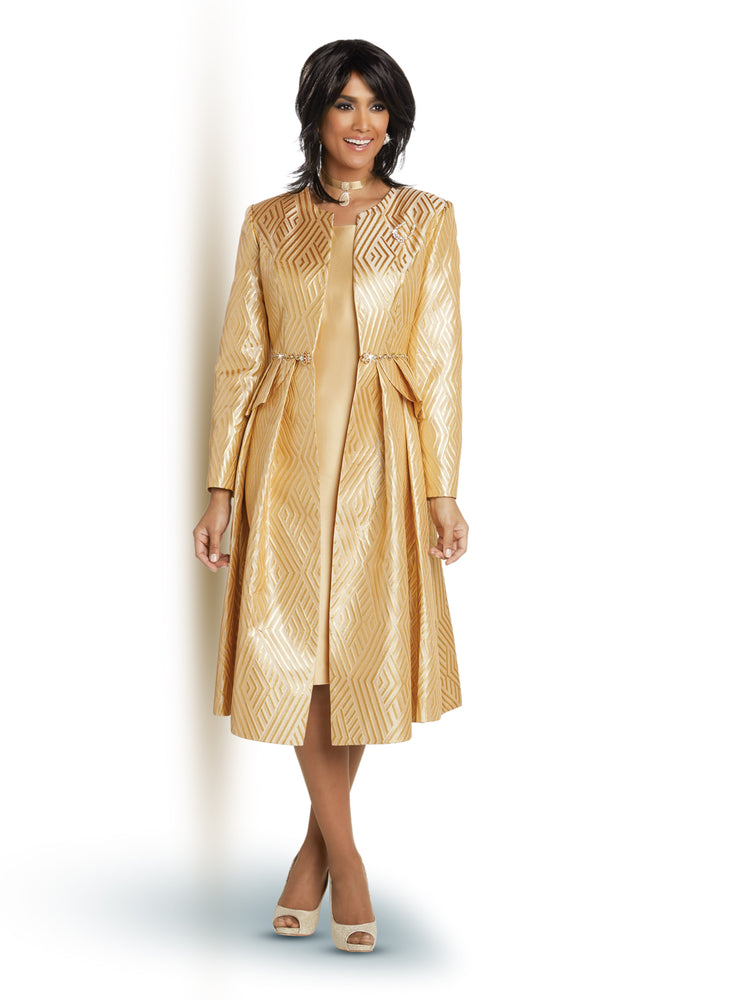 DONNA VINCI 11747-2PC JACKET DRESS