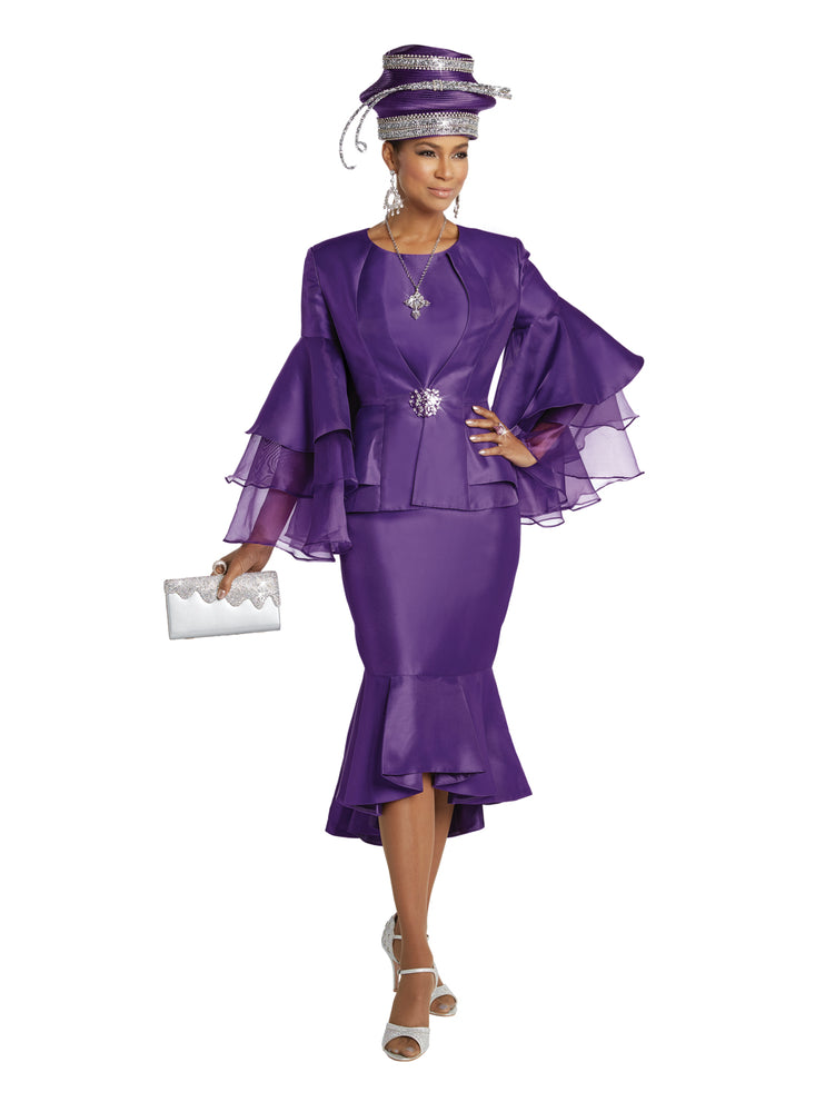 DONNA VINCI 11750 WOMEN 3PC SKIRT SUIT