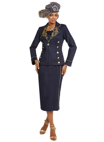 CHURCH SUIT DONNA VINCI KNIT 13229 SKIRT SUIT