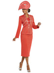 CHURCH SUIT DONNA VINCI KNIT 13239 SKIRT SUIT