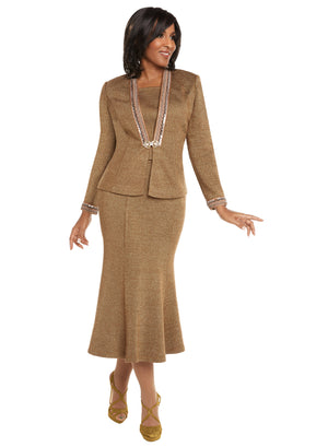 CHURCH SUIT DONNA VINCI KNIT 13242 SKIRT SUIT