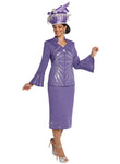 WOMENS CHURCH SUIT DONNA VINCI KNIT 13243 SKIRT SUIT