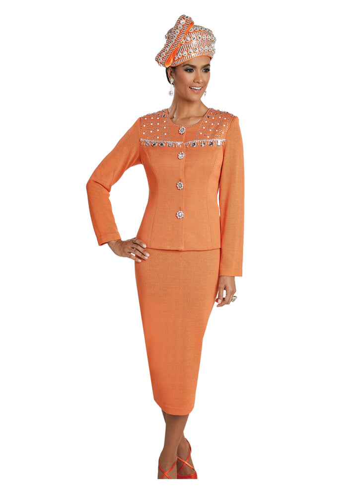 DONNA VINCI 13246 KNIT SUIT 2PC