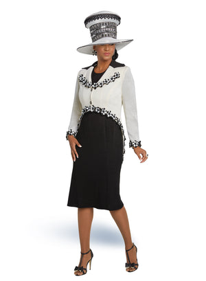 DONNA VINCI 13250 KNIT 2PC DRESS SUIT