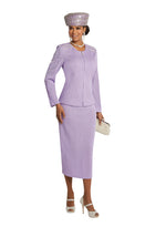 DONNA VINCI 13252 KNIT 2PC SUIT